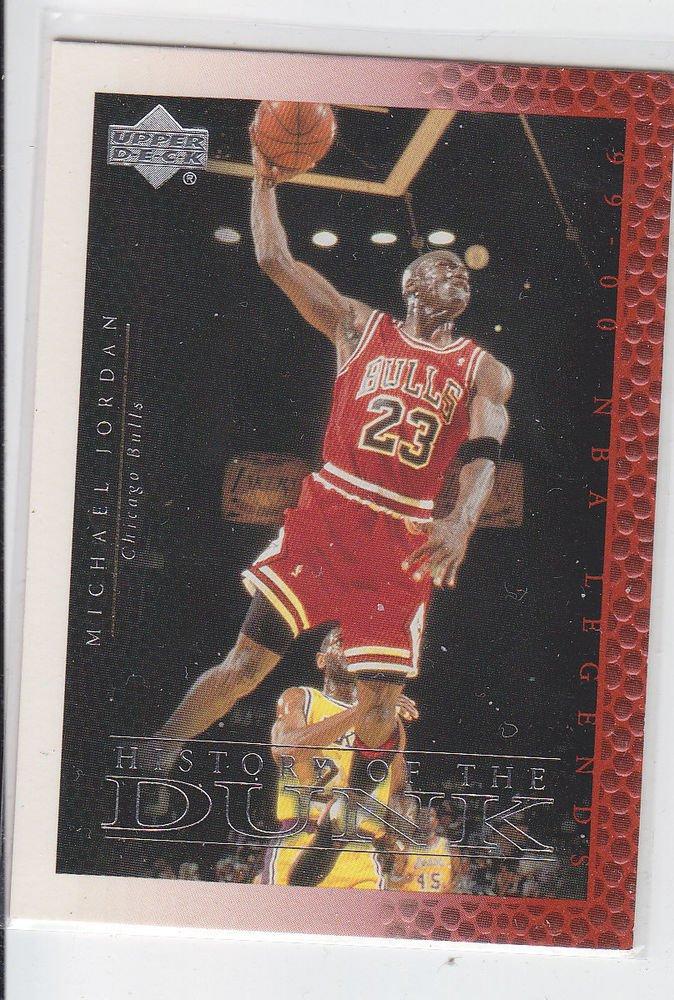 Michael Jordan History of the Dunk 2000 Upper Deck Century Legends #67 Bulls