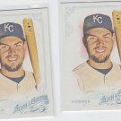 Eric Hosmer Trading Card Lot of (2) 2015 Topps Allen & Ginter #7 Royals