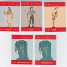 Pocahantes Pop-Ups Lot of (5) Trading Card 1995 Skybox #12 #11 #10 x 2 #8 *ED