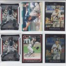 Joe Mauer Lot of (6) 2009 Finest x2, 2008 Bowman, 07 Topps & Topps Chrome Twins