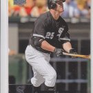 Jim Thome Trading Card Single 20009 Upper Deck HL #463 White Sox
