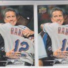 Tom Glavine Trading Card Lot of (2) 2008 Upper Deck First Edition #125 Mets