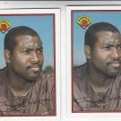 Tony Gwynn Oversize Trading Card Lot of (2) 1989 Bowman #461 Padres