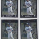 Matt Kemp Trading Card Lot of (4) 2007 Topps Chrome #159 Dodgers