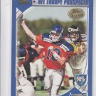 Ron Powlus RC Trading Card 2000 Topps Collection #348 Europe *BILL