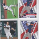 Grady Sizemore Trading Card Lot of (8) 2008 Upper Deck UDX Topps Chrome, Indians