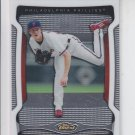 Cole Hamels Trading Card Lot of (2) 2009 Topps #35 Phillies