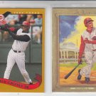 Ken Griffey Jr Reds Lot of (3) 2008 Topps Update #UH119, 07 Turkey Red 02 Topps