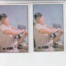 Mickey Mantle 53 Bowman Reprint Trading Card Lot of (2) 1989 Bowman Yankees