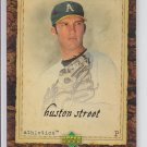 Huston Street Trading Card Single 2007 UD Artifacts #24 Athletics