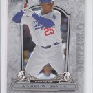 Andruw Jones Trading Card Single 2009 UD A Piece of History #49 Dodgers