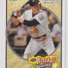 Hunter Pence Trading Card Single 2008 UD Heroes #77 Astros