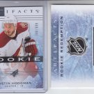 Justin Hodgman Rookie Redemption Wild Card 2013-14 Upper Deck Artifacts 390/699