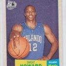Dwight Howard Trading Card Single 2007-08 Topps 57-58 Variation #14 Magic