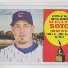 Geovany Soto Trading Card Single 2009 Topps Heritage #323 Cubs