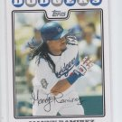 Manny Ramirez Trading Card Single 2008 Topps Updates #UHS237 Dodgers