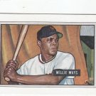 Willie Mays Oversize 51 Topps Reprint Trading Card 1989 Bowman Giants