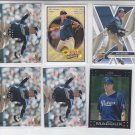 Greg Maddux Lot of (9) 2007 Topps, Topps Chrome, 08 UD First Collecion Padres