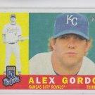 Alex Gordon Trading Card Single 2009 Topps Heritage #196 Royals