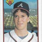 Tom Glavine Oversize Trading Card Single 1989 Bowman #267 Braves