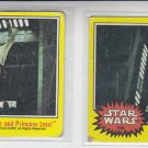 Close Call For Luke & Leia Lot of (2) 1977 Topps Star Wars  #166 VG-EX