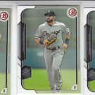 Adam Eaton Trading Card Lot of (3) 2015 Bowman #12 White Sox