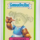 Drawn Dawn Green SP 2014 Topps Garbage Pail Kids Series 2 #72b