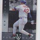 Mo Vaughn Yard Work 1998 Pinnacle Plus #1/18 Red Sox