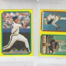 B.J. Surhoff Siuper Star Mini Lot of (2) 1988 Topps #57 Backs #35 & #44 #226