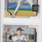 Colin Moran Trading Card Lot of (2) 2015 Bowman #BP149 Astros