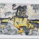 Scar Presents His Villainus Scheme Thermographic 1994 Skybox Lion King 2 #T7 *ED