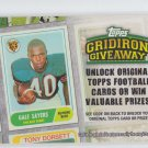 Gale Sayers Gridiron Giveaway Code 2010 Topps #GG4 Bears *Expired