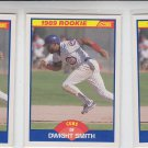 Dwight Smith Trading Card Lot of (3) 1989 Score RC #642 Cubs