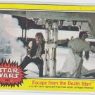 Escape From the Death Star! Trading Card Single 1977 Topps Star Wars #145 VG-EX