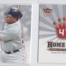 David Ortiz Home Run Kings Insert Lot of (2) 2006 Fleer Utlra #HRK5 Red Sox