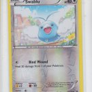 Swablu Reverse Holo Common Single  Pokemon XY Raising Stars 73/108 x1 Unplayed