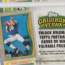 Peyton Manning Gridiron Giveaway Code 2010 Topps #GG6 Colts Broncos *EXpired