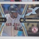David Ortiz XPonential X3 Insert 2008 Upper Deck X #X3DO Red Sox