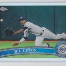 B.J. Upton Refractor 2011 Topps Chrome #123
