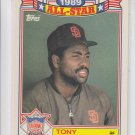 Tony Gwynn All-Star Commeorative Trading Card Single 1989 Topps #8 Padres  *BILL