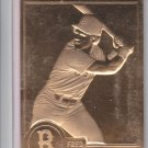 Fred Lynn 22K Gold Embosses Trading Card Single 1996 Danbury Mint #10