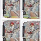 Joey Votto Trading Card Lot of (4) 2015 Bowman #45 Reds