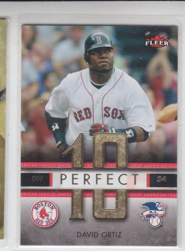 David Ortiz Perfect 10 Insert 2007 Fleer #PA-DO Red Sox