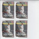 Billy Hamilton Trading Card Lot of (4) 2015 Bowman #104 Reds