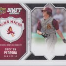 Dustin Pedroia Alma Mater Insert 2009-10 Upper Deck Draft Edition #AM-DP Red Sox
