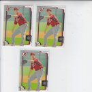 Robert Stephenson Trading Card Lot of (3) 2015 Bowman #BP44 Reds