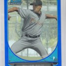 William White Blue Refractor SP 2013 Bowman Chrome Draft #BDPP95 Marlins 77/99