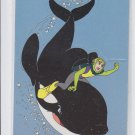 Jesse & Willy Popup Trading Card Single 1995 Skybox Free Willy #P8 *ED