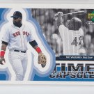 Mo Vaughn Time Capsule Insert 1998 Upper Deck Retro #TC6 Red Sox