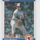 Tippy Martinez Trading Card Single 1984  Fleer #12 Orioles  *BILL